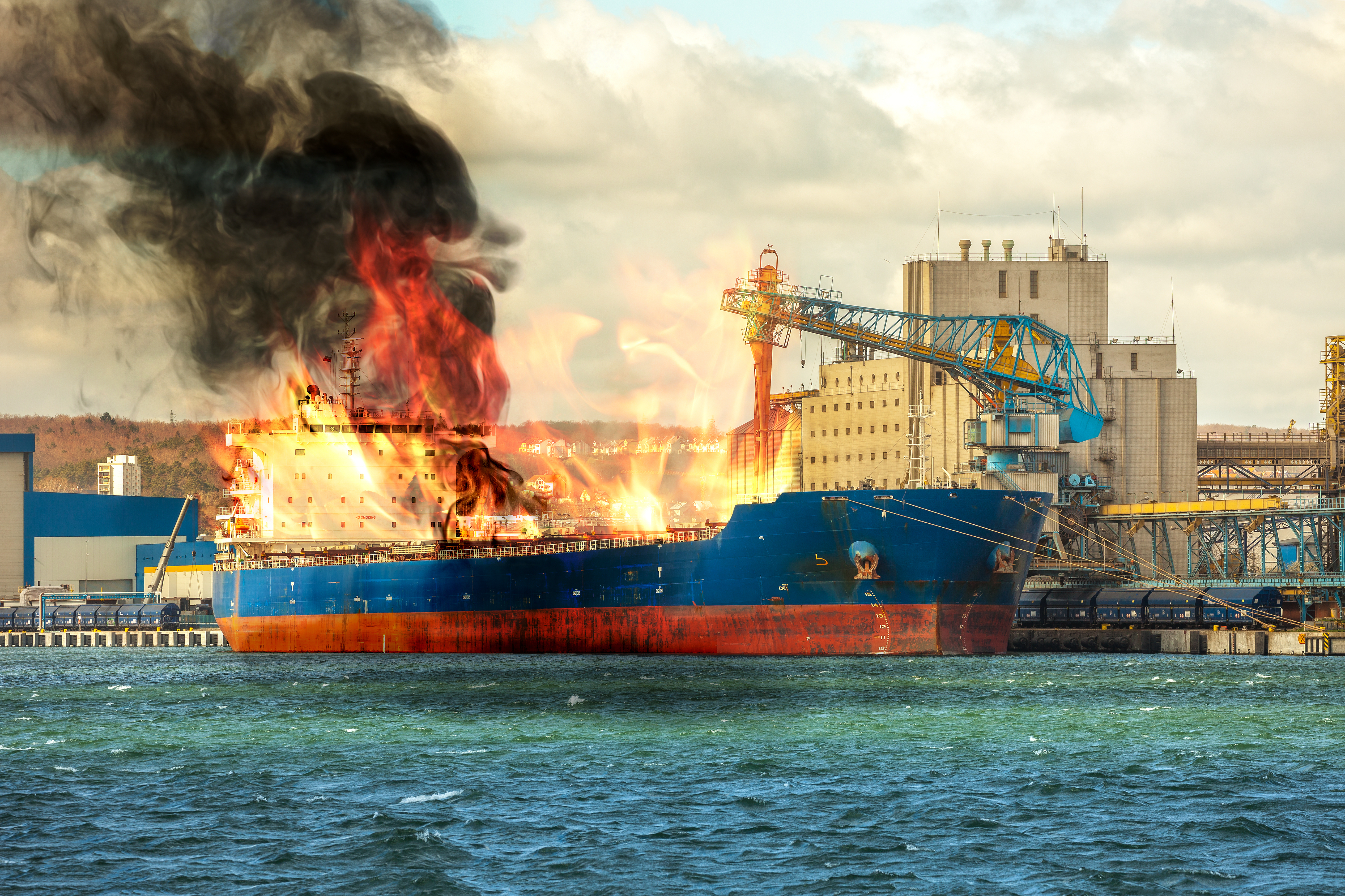 A Cause for Concern: Container Ship Fires